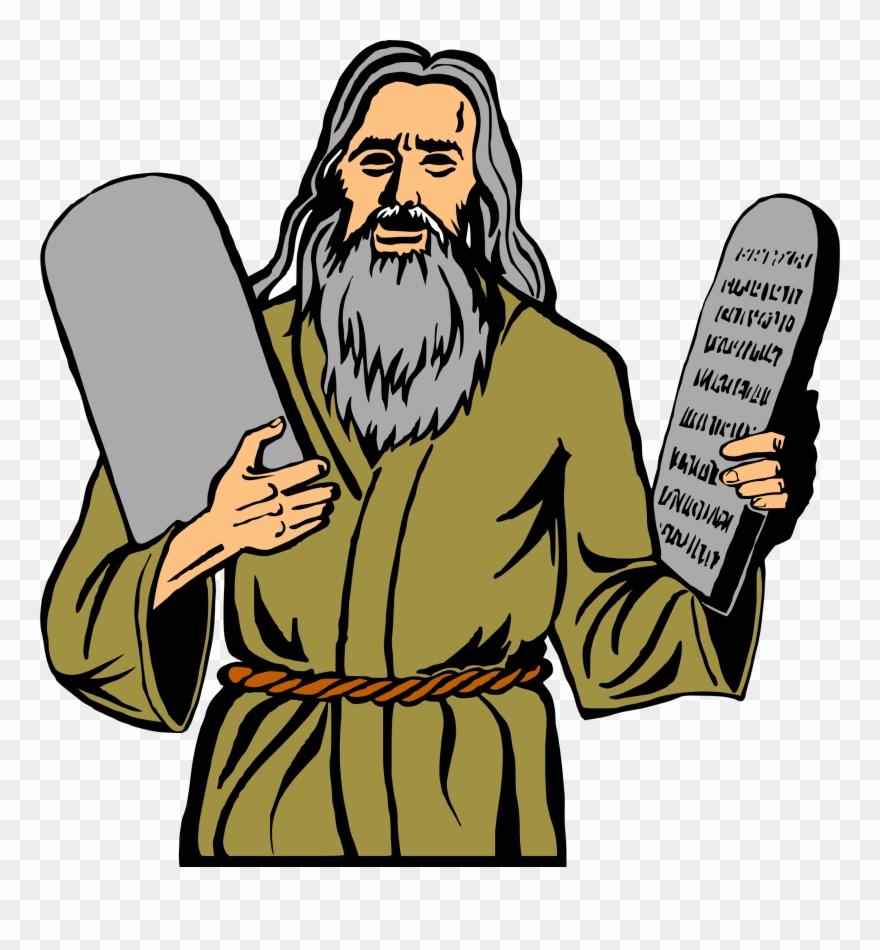 Big image commandments png. Moses clipart 10 commandment