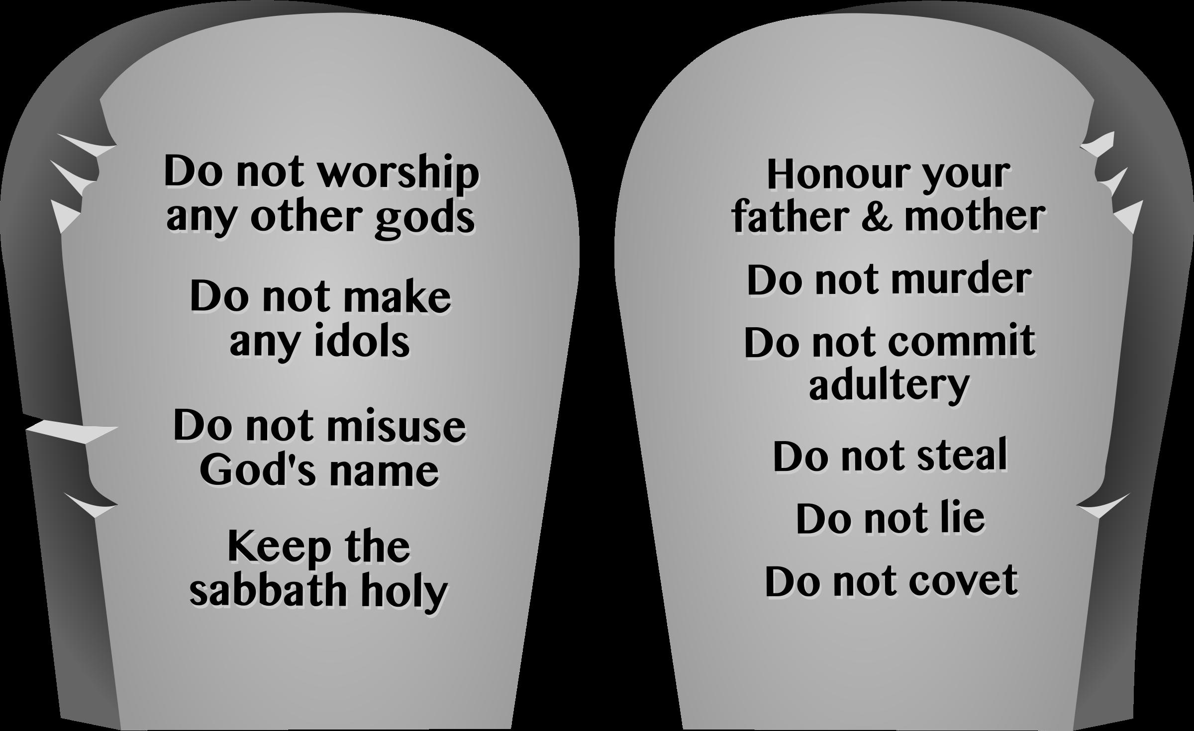 Ten commandments clipart clip art. Icons png free and