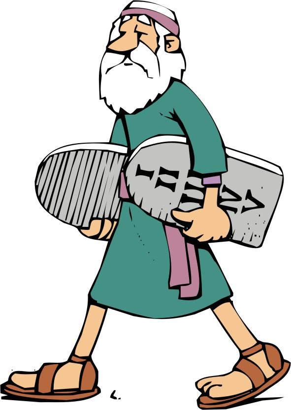 Download moses bible . Ten commandments clipart clip art
