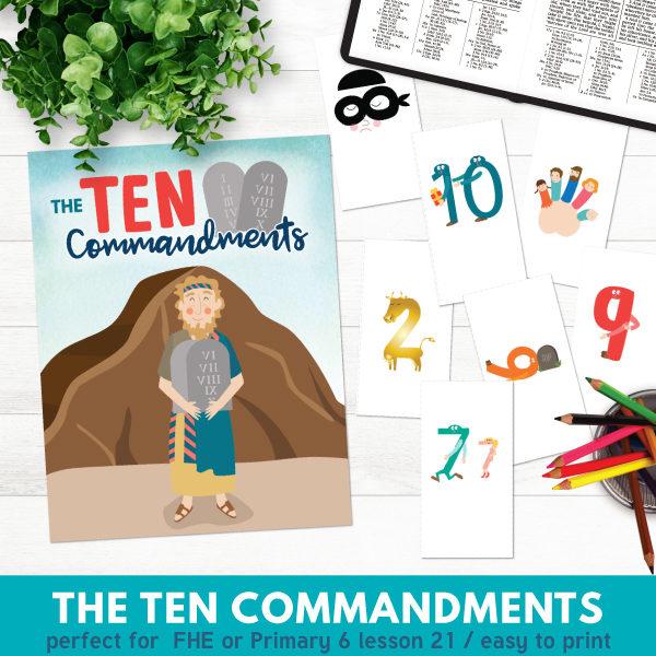 Ten commandments clipart doctrine. Primary lesson the