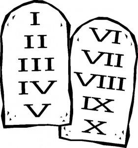 Ten commandments clipart drawing. At getdrawings com free