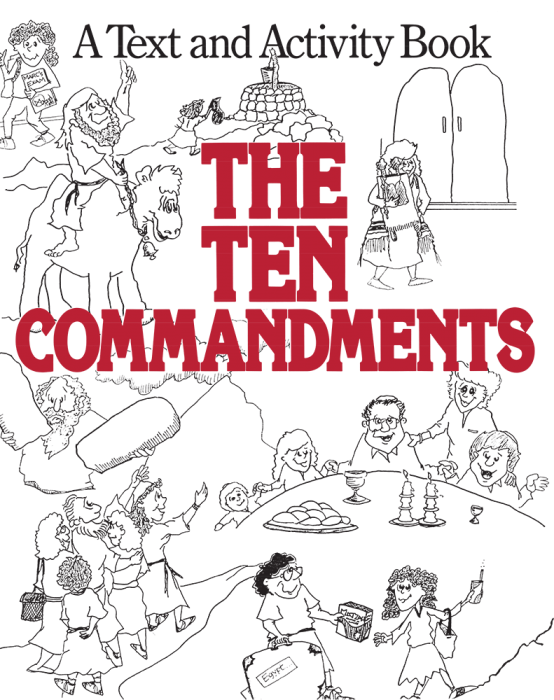 The . Ten commandments clipart drawing