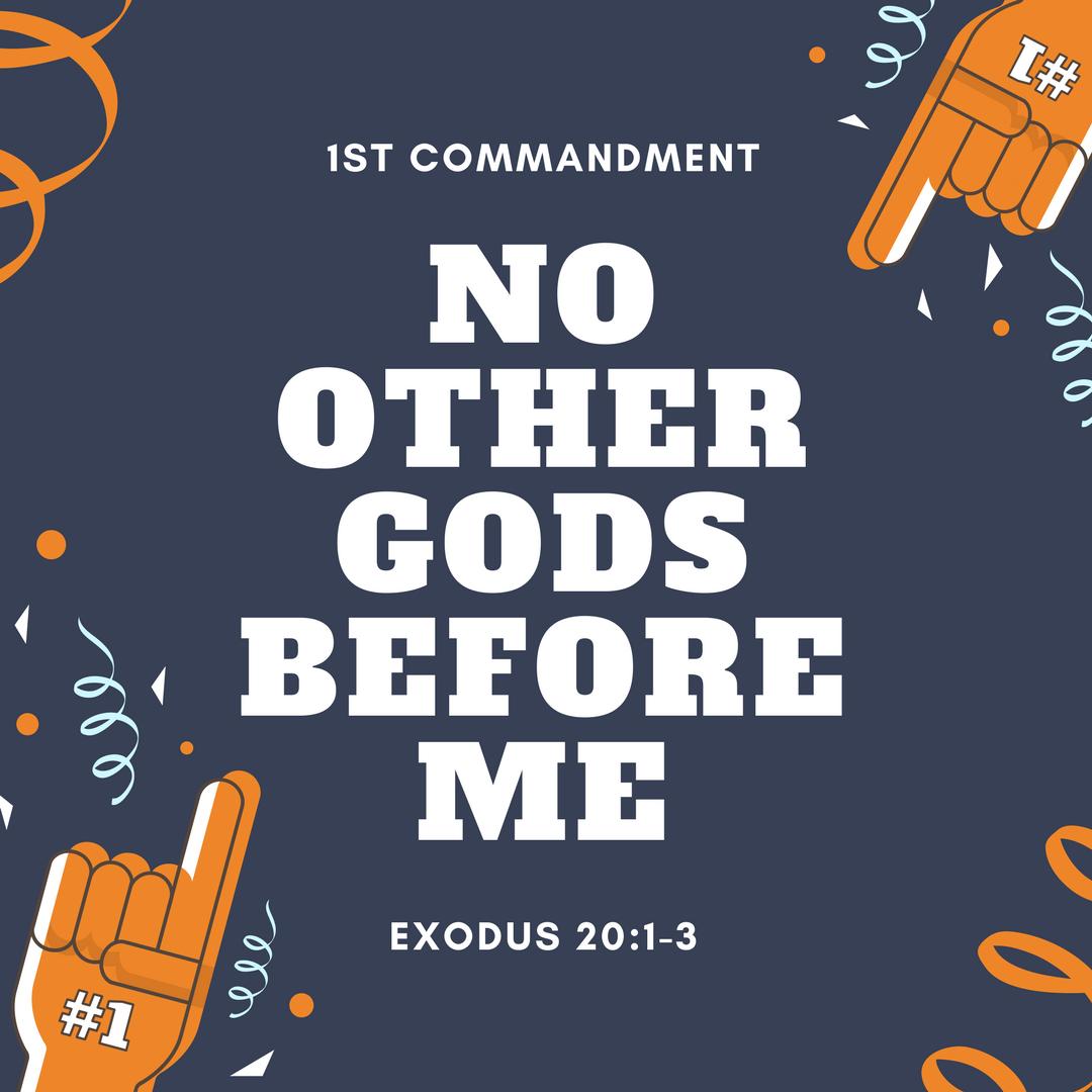 Reflections on the of. Ten commandments clipart first commandment