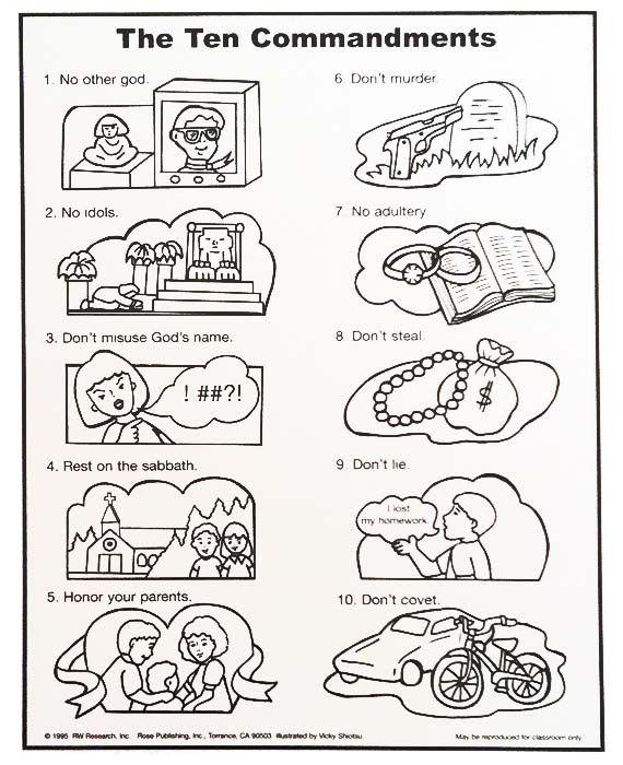 Pin on sunday school. Ten commandments clipart first three