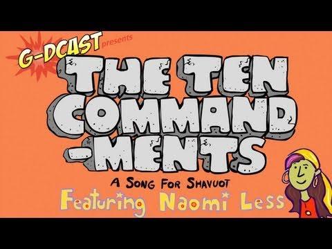 Ten commandments clipart ks2. The a music video
