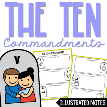 Ten commandments clipart monotheism. Religion projects worksheets tpt