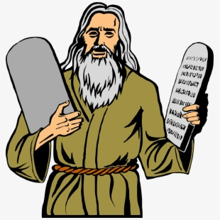Free stone . Ten commandments clipart positive