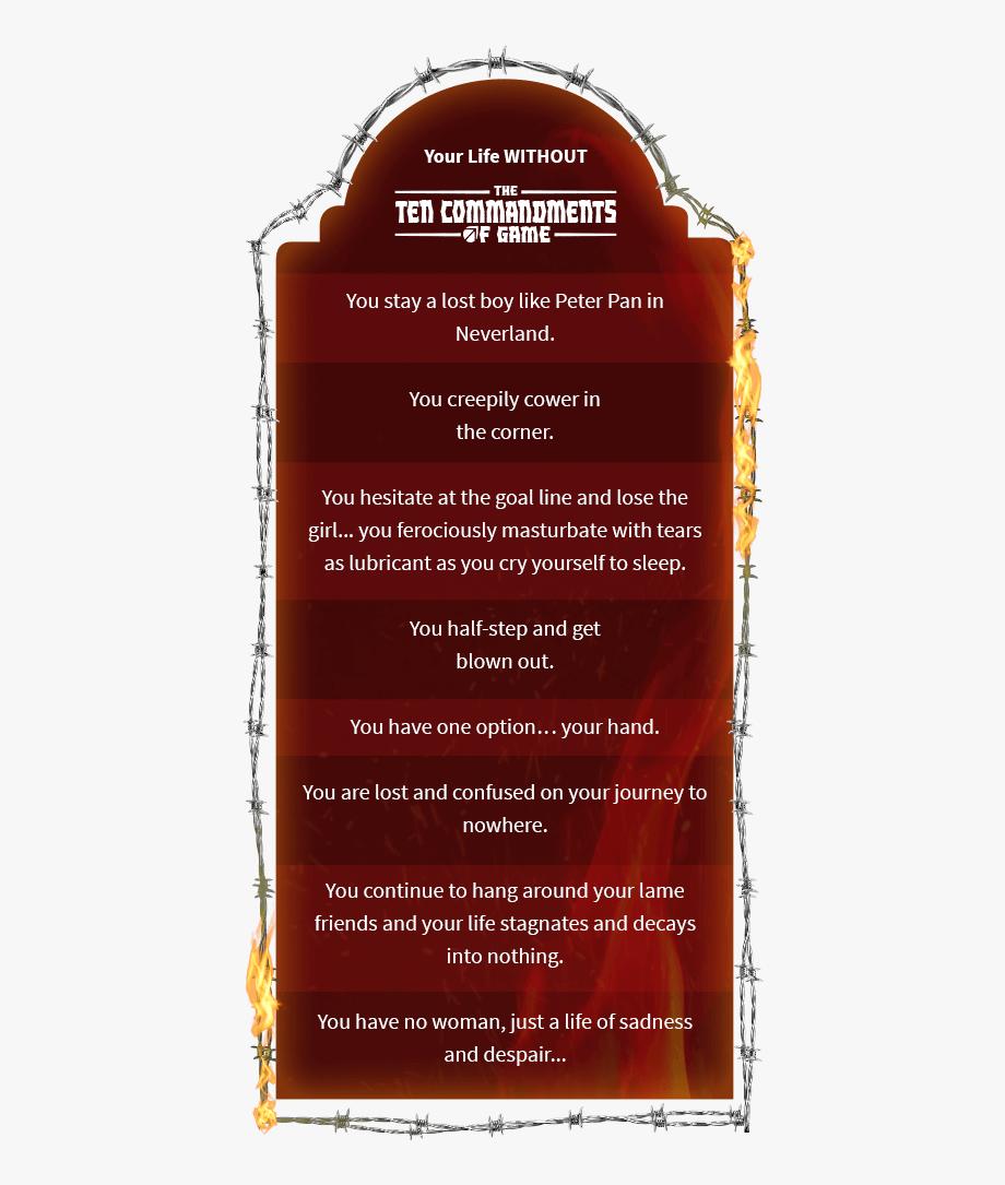 Ten commandments clipart symbol. The of game is