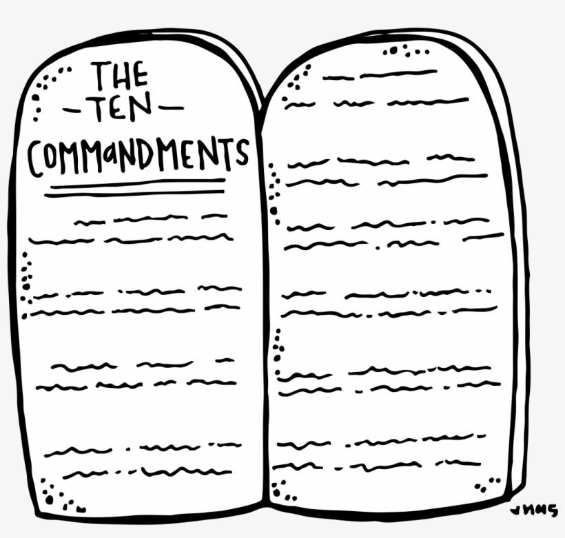 Melonheadz lds illustrating . Ten commandments clipart transparent