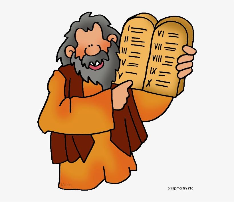 Moses free png . Ten commandments clipart transparent