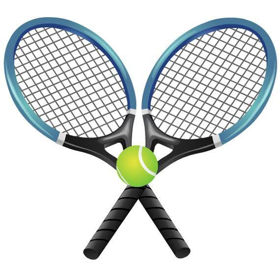 Clip art border free. Tennis clipart