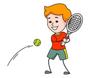 Tennis clipart. Sports free to download