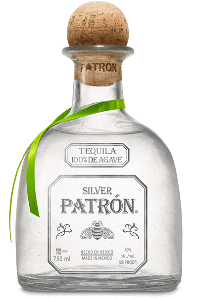 Tequila bottle png. Patron silver broudy s