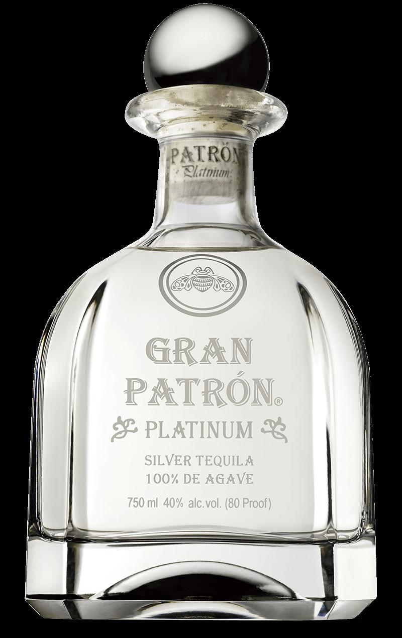 Tequila bottle png. Gran patr n platinum