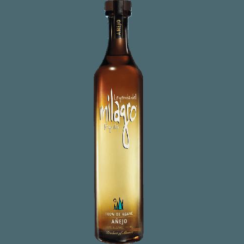 Send milagro anejo online. Tequila bottle png
