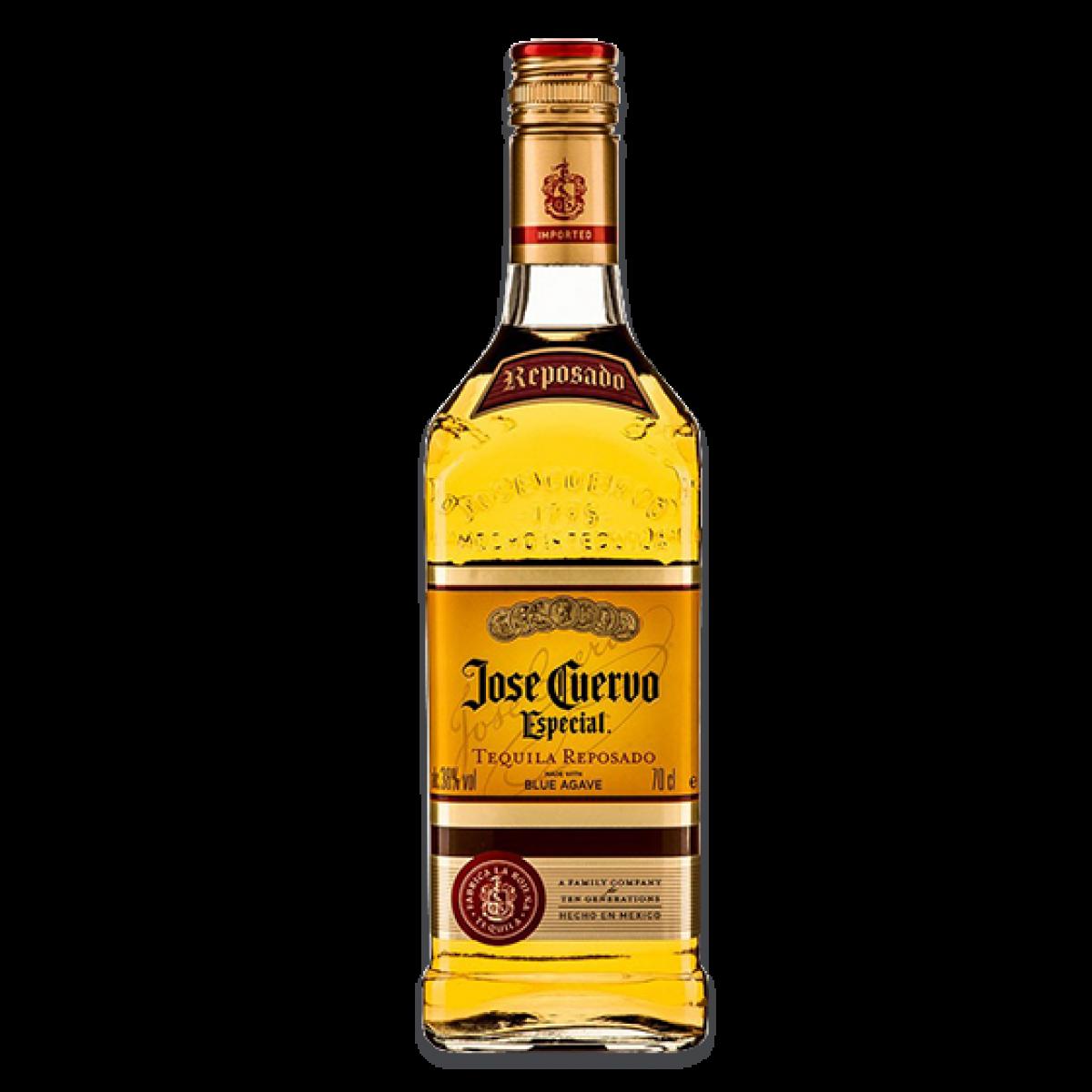 Tequila bottle png. Jose cuervo gold ml