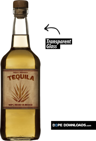 Tequila bottle png. Mexican psd official psds