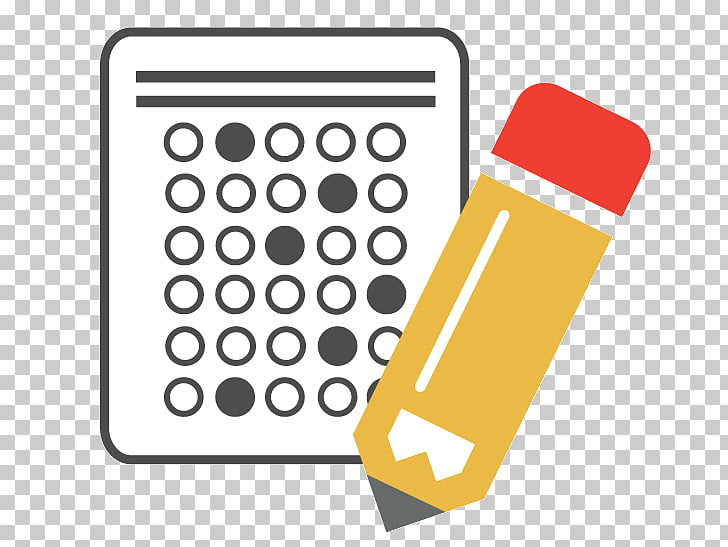 test clipart answer sheet