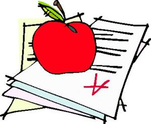 Grading cliparts free download. Test clipart graded papers