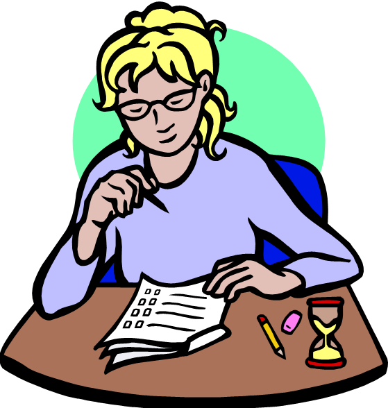 Writing questions angela larson. Test clipart multiple choice test
