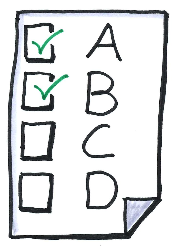Oliver tacke flickr . Test clipart multiple choice test