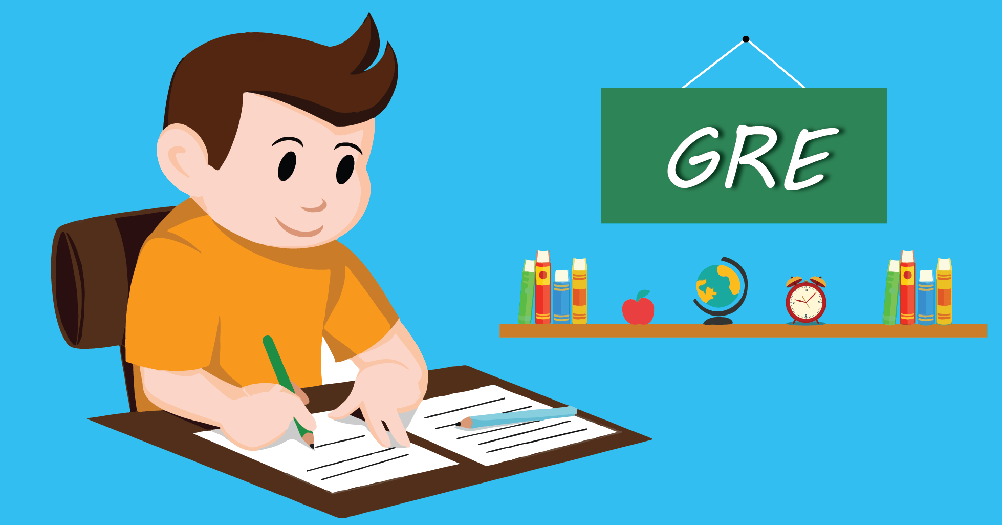Test clipart test preparation. Taking the gre for