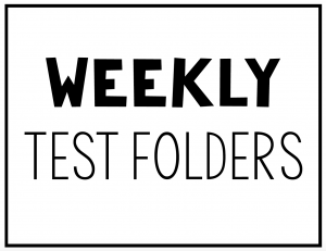 Folders math tech connections. Test clipart weekly