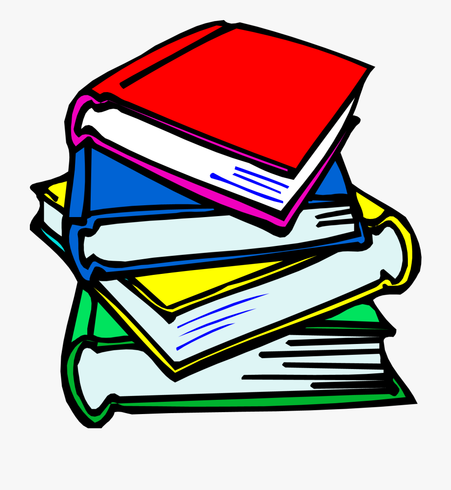 Textbook clipart. School book pictures free