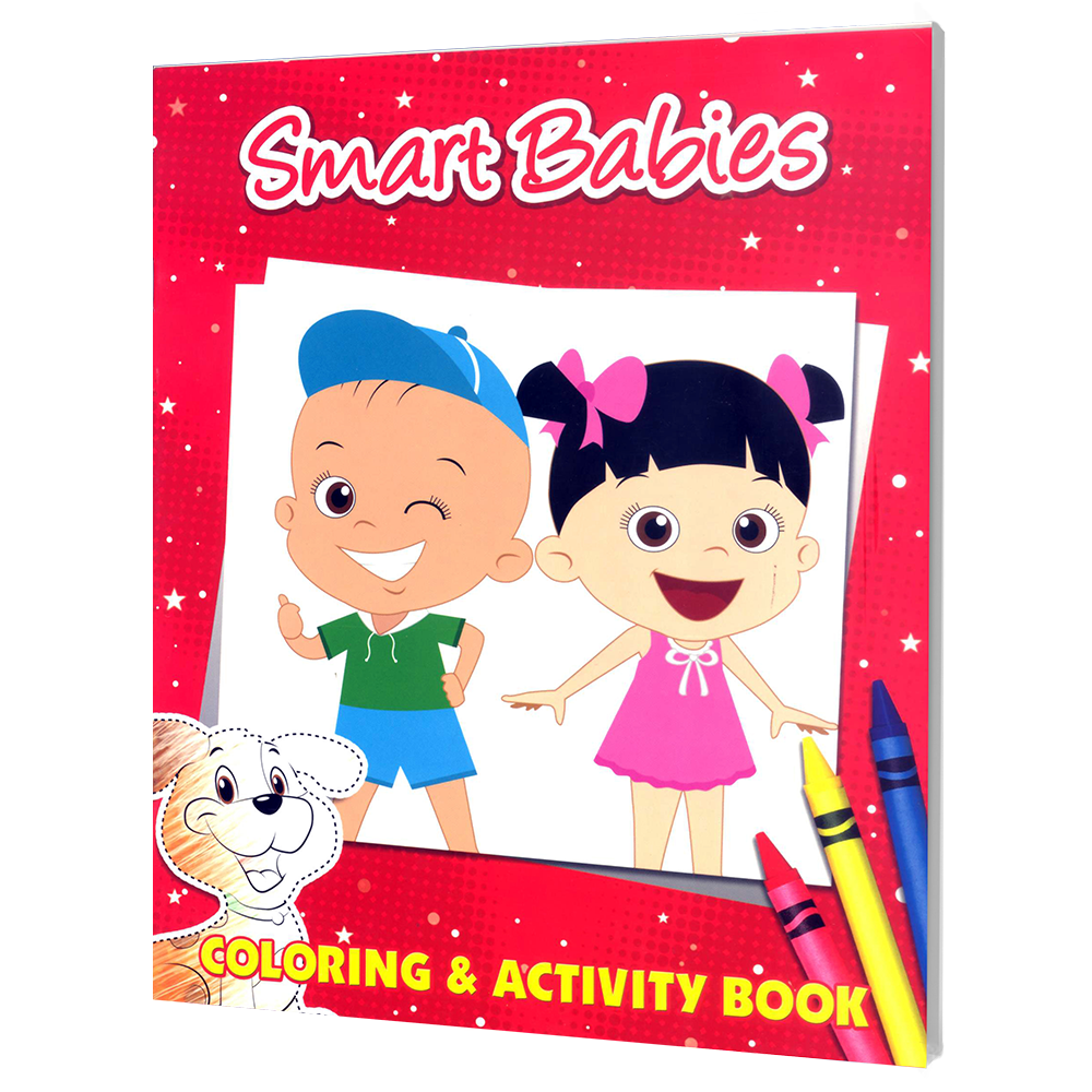 Textbook clipart activity book. Learning is fun smart
