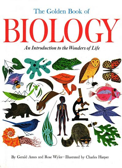 Vintage kids books my. Textbook clipart biology book
