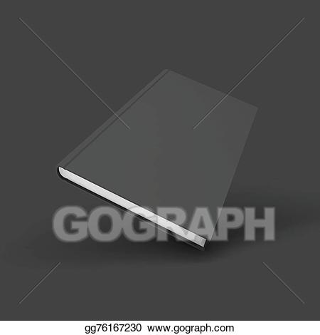 Textbook clipart bookd. Eps illustration blank book