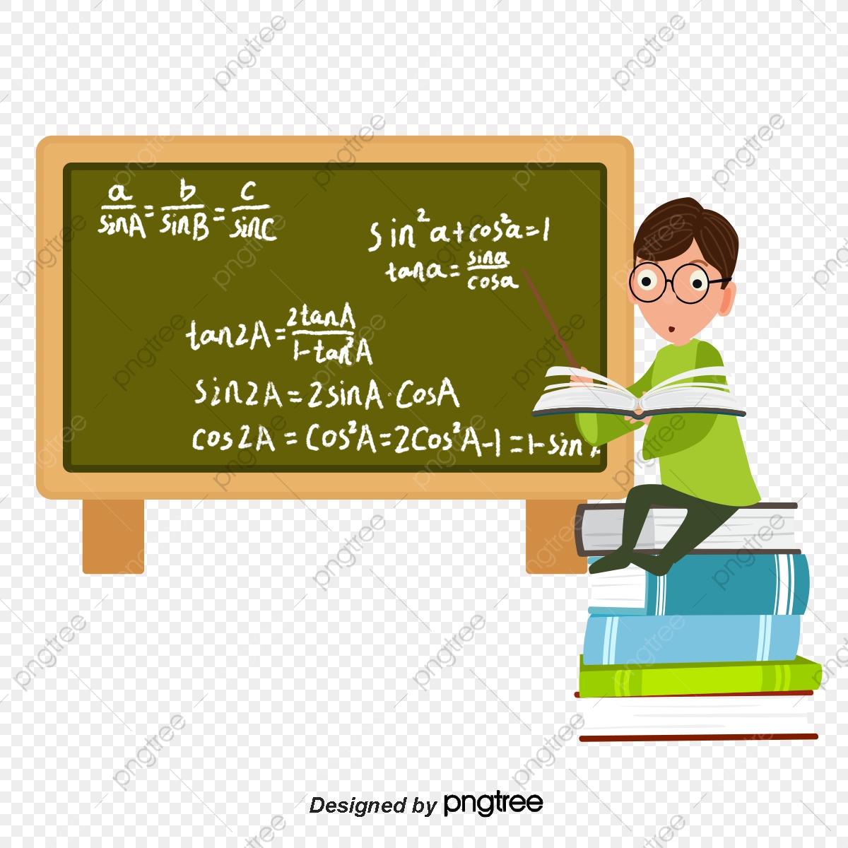 Teachers day lectern blackboard. Textbook clipart classroom