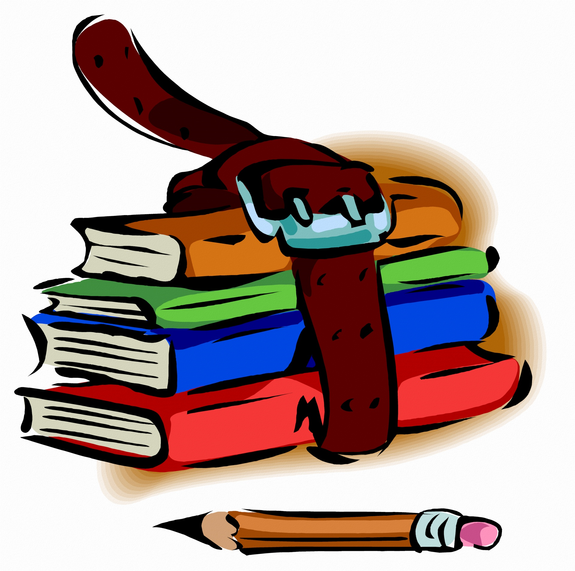 New semester same burden. Textbook clipart college supply
