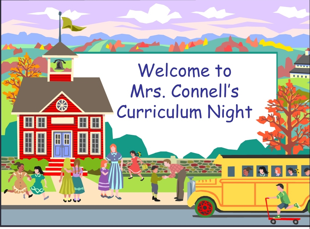Tips for a stress. Textbook clipart curriculum night