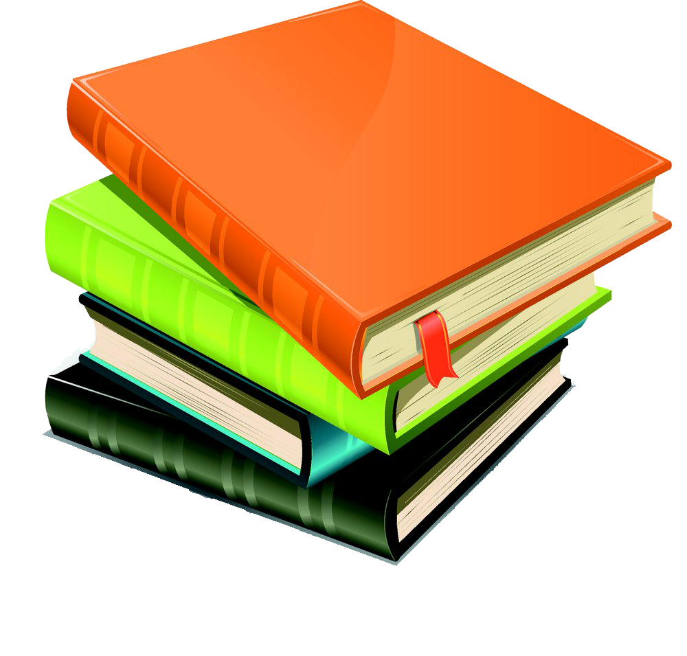 Textbook clipart front cover. Book royalty free illustration