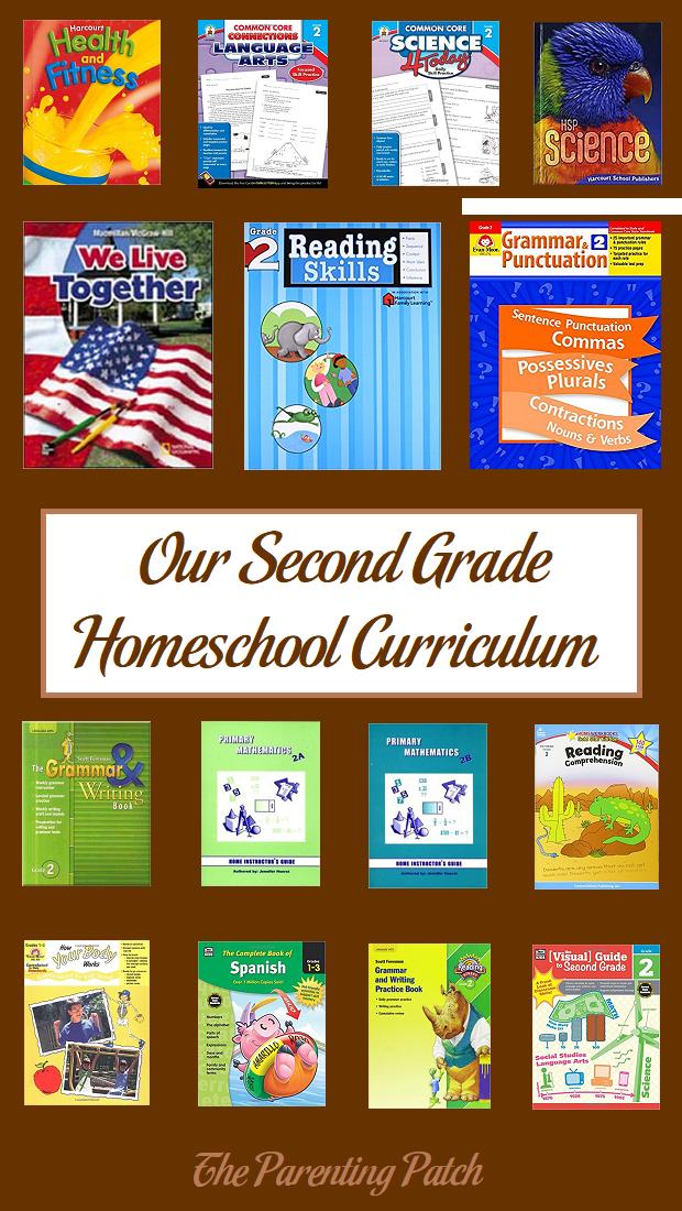 Our second grade homeschool. Textbook clipart homeschooling