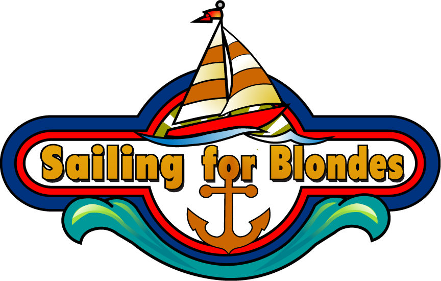 Book sailing for blondes. Textbook clipart language