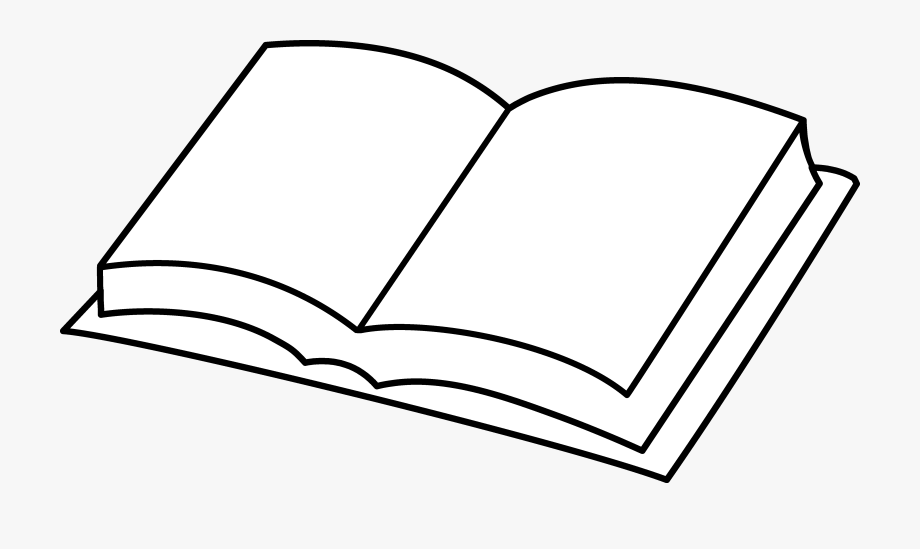 Textbook clipart open book. Model of free