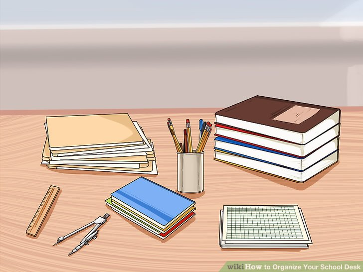 Textbook clipart organized book. How to organize your