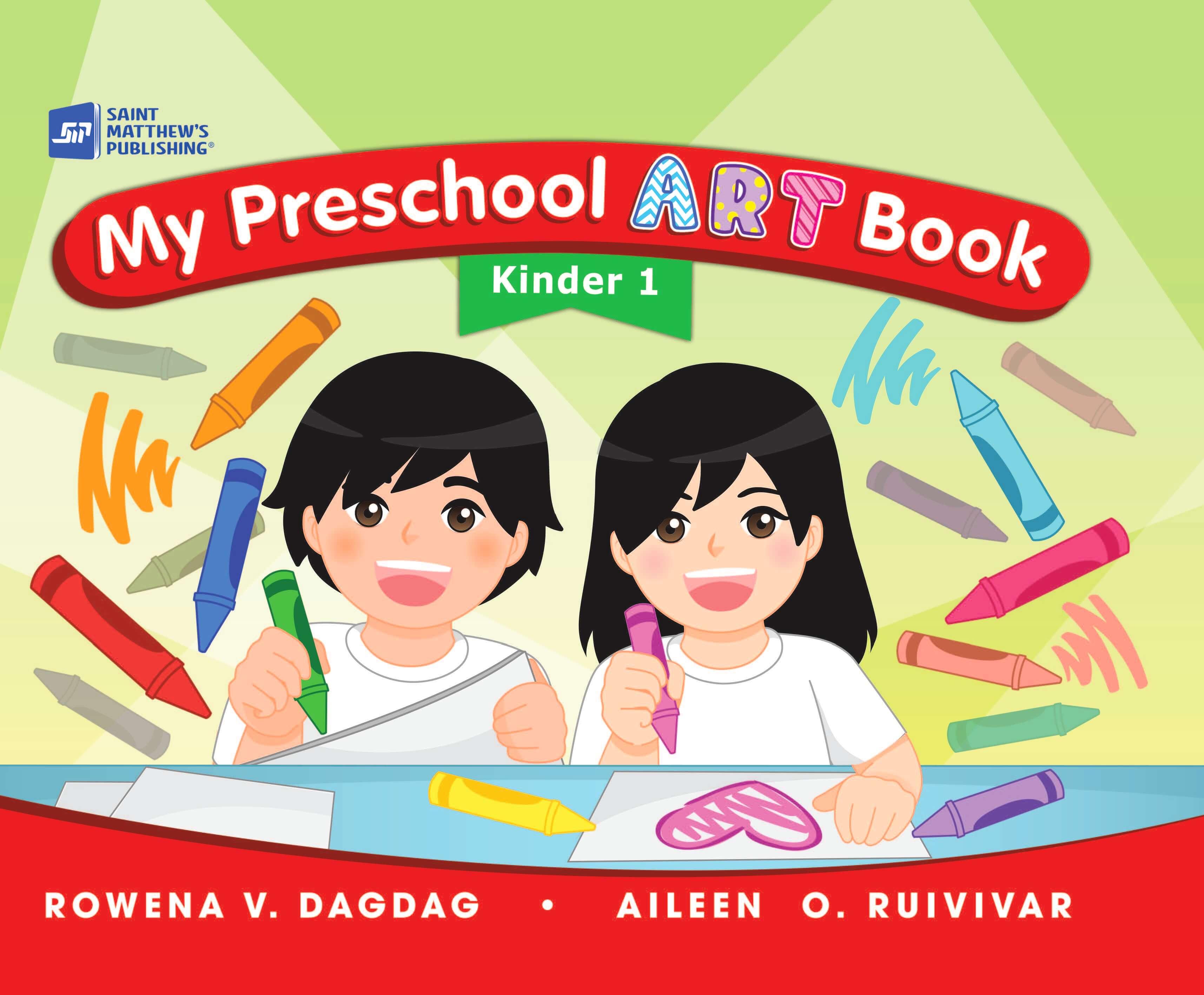 My art kinder st. Textbook clipart preschool book