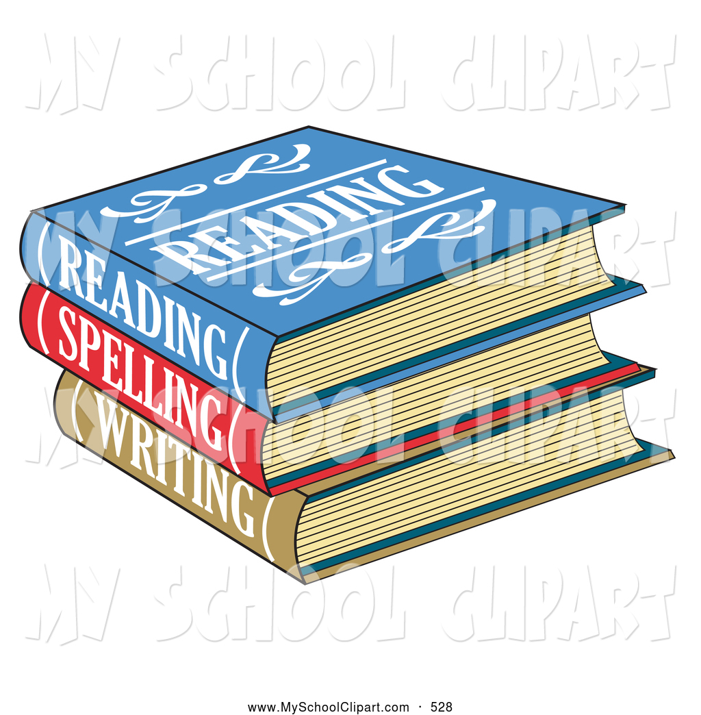 Clip art of a. Textbook clipart spelling book