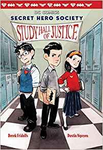 Of justice dc comics. Textbook clipart study hall