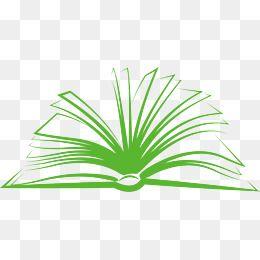 open book notebook. Textbook clipart vector