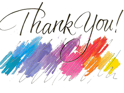 Download thank you png. Thanks clipart acknowledgement