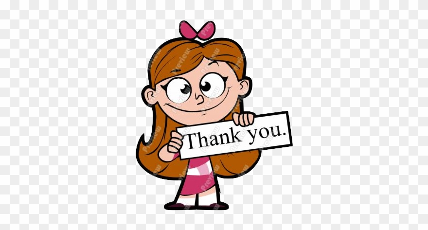 Thank you girl cartoon. Thanks clipart acknowledgement