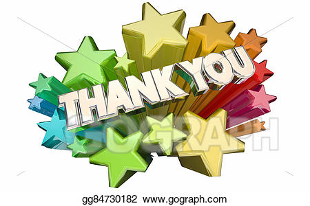 Stock illustration thank you. Thanks clipart appreciation