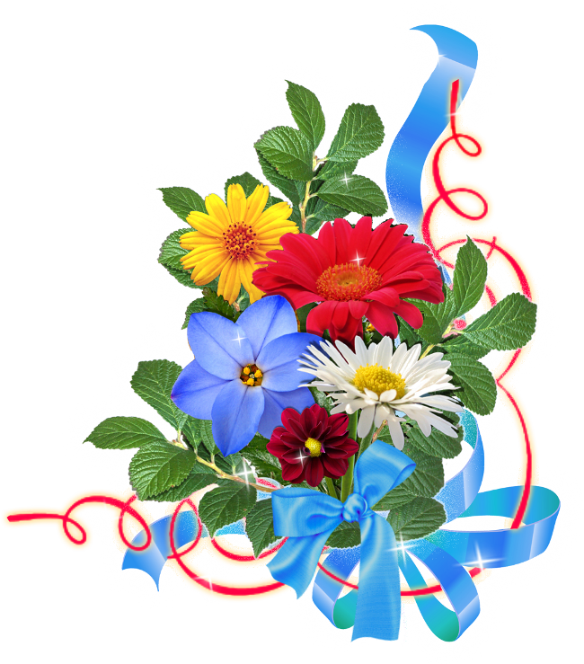 Thanks clipart bouquet. Tubes fleurs varies png
