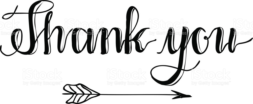 Thanks clipart calligraphy. Special free download best