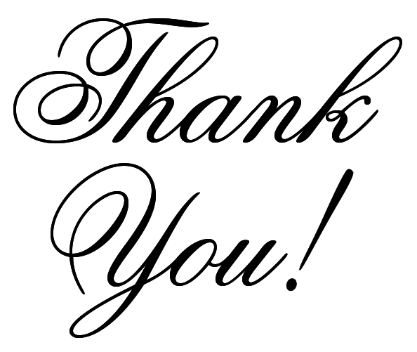 Thank you celebrate clip. Thanks clipart calligraphy