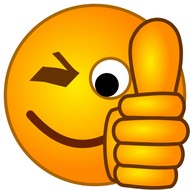 For your help to. Thanks clipart emoticon